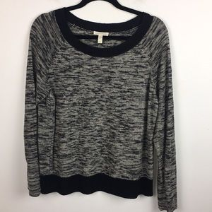 Eileen Fisher Linen Black and White Sweater